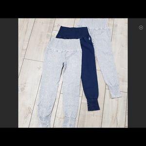 New style FRee People high waist leggings ice gray